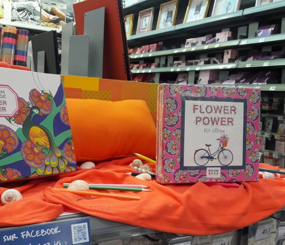 Le Kit Album FLOWER POWER