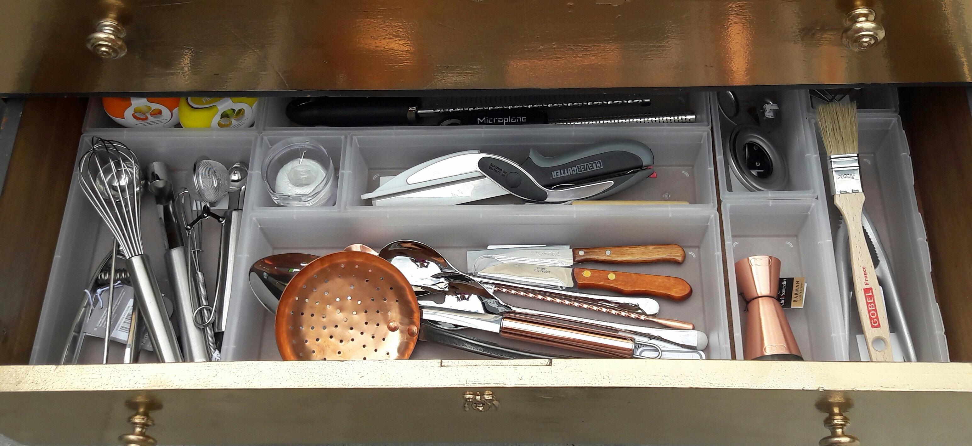 J'ai testé pour vous les organiseurs de tiroirs  Sundis