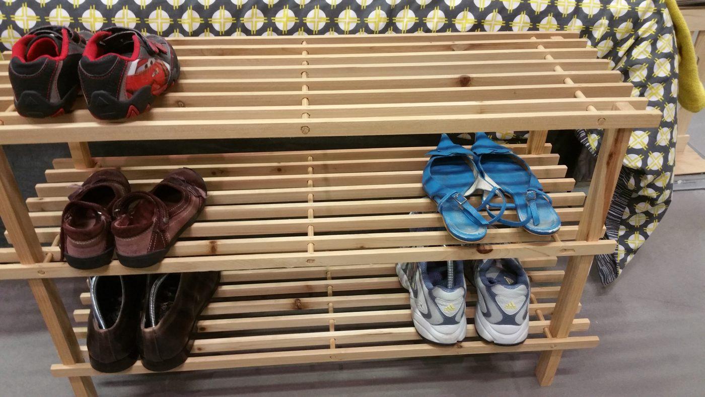 J'ai testé pour vous l'étagère à chaussures LATTE PIN 3 étagères