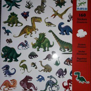 Gomettes dinosaures