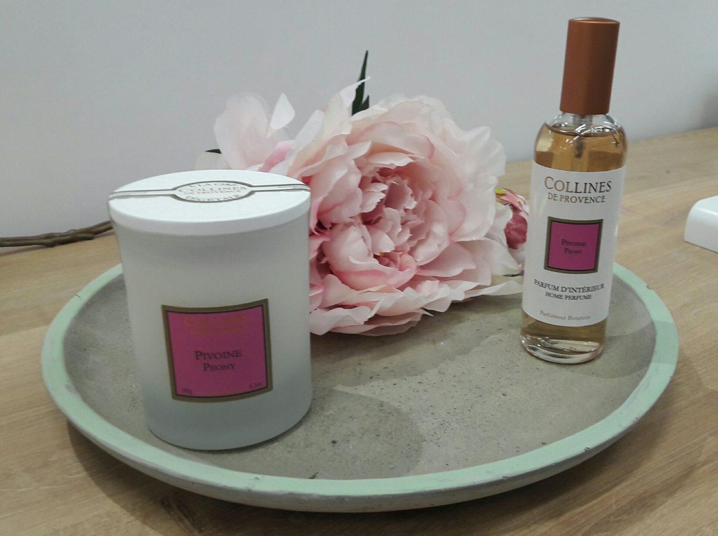 J'ai testé pour vous le parfum Pivoine de chez Collines de Provence
