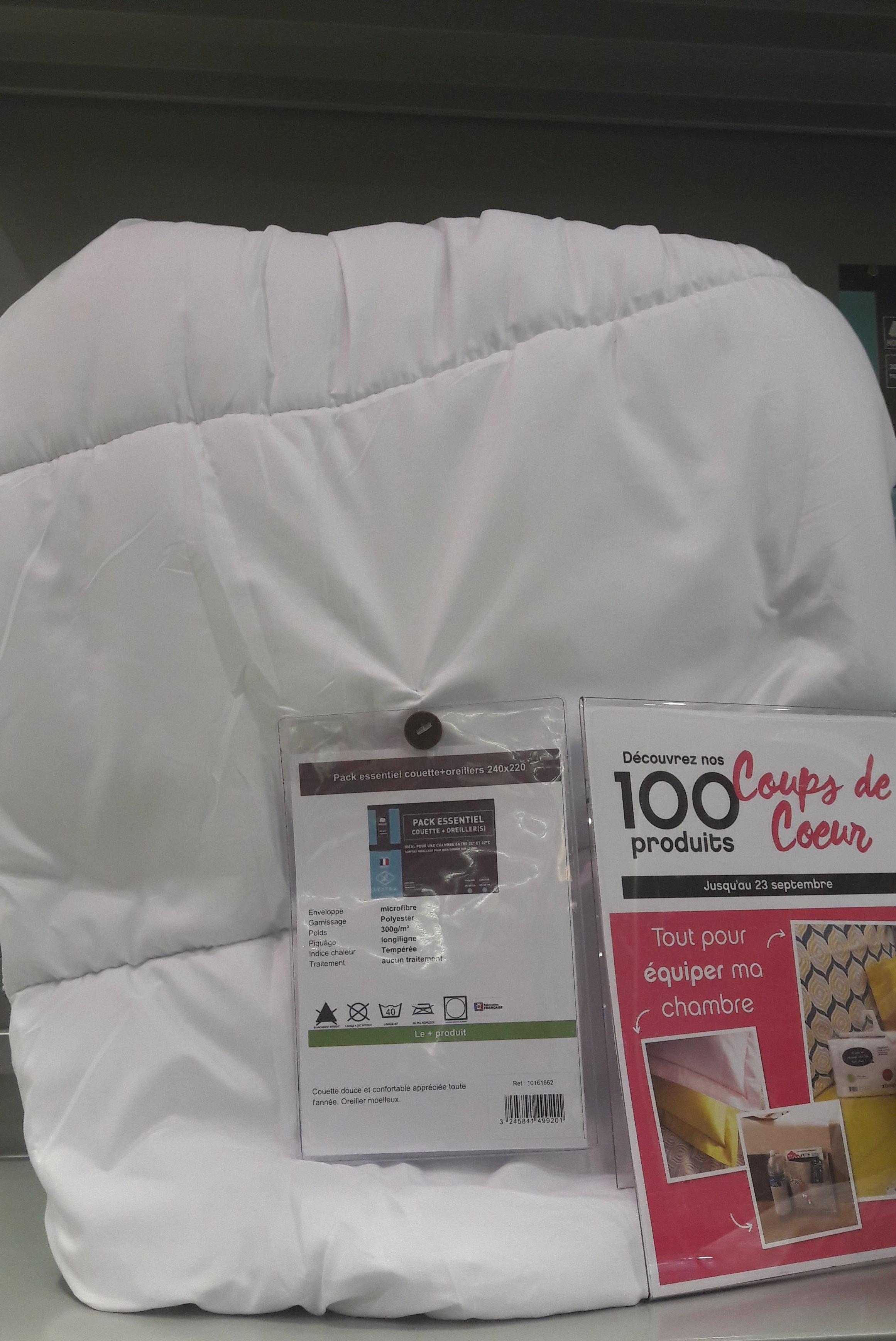 J'ai testé pour vous le pack Couette + 2 oreillers de chez LESTRA