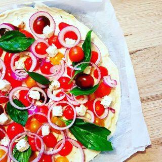 Ma tarte aux tomates cerises façon Pataki