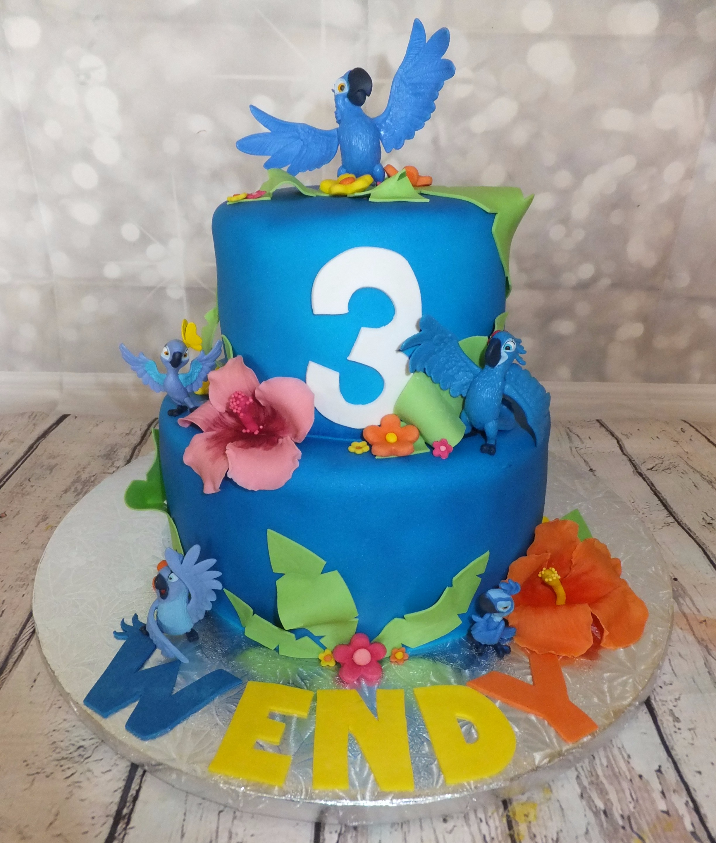 Gâteau Rio