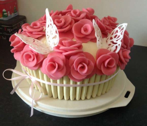 Rose's cake aux Kinder Bueno