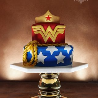 Gâteau Wonder Woman