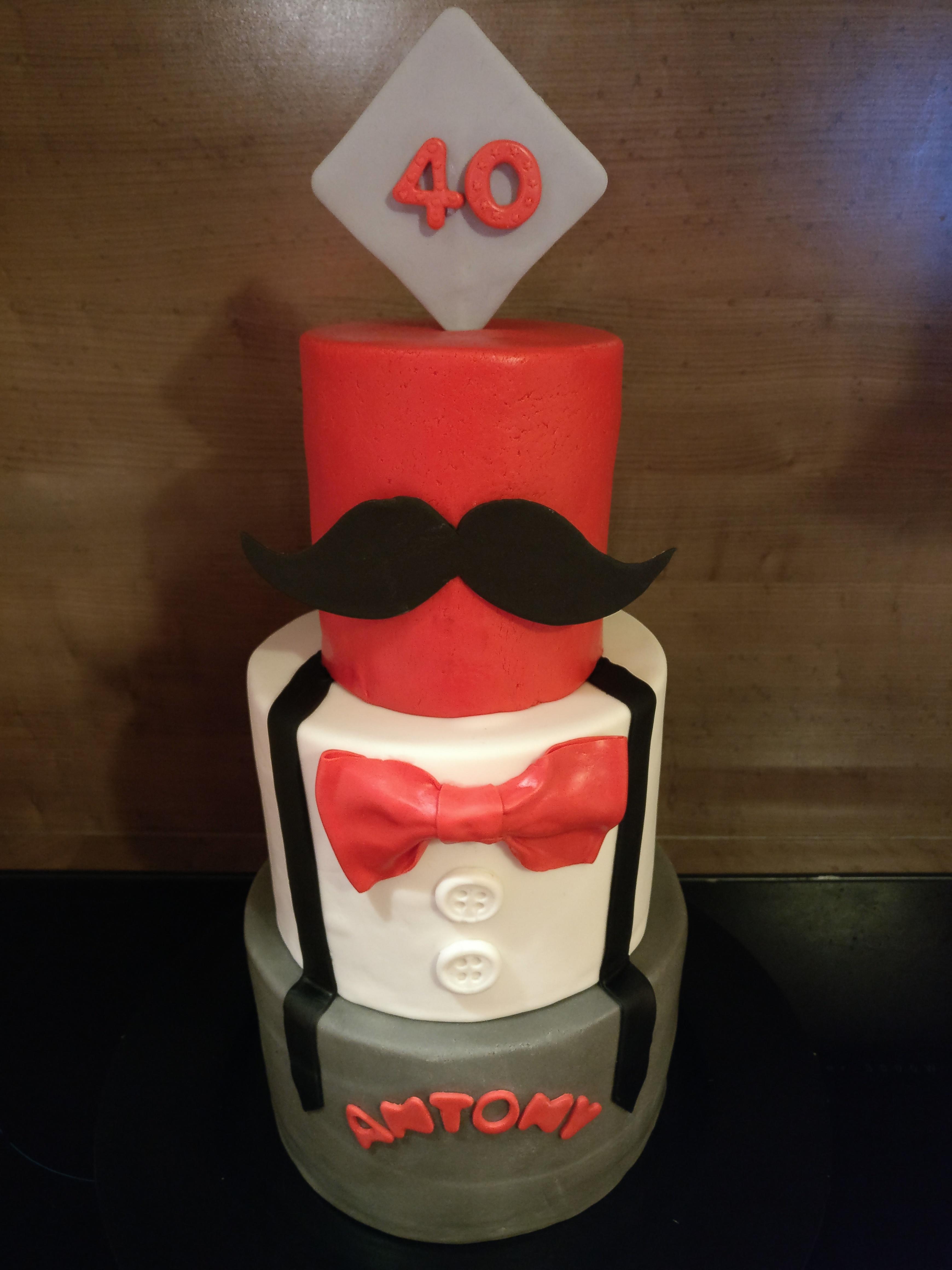 Gâteau moustacke