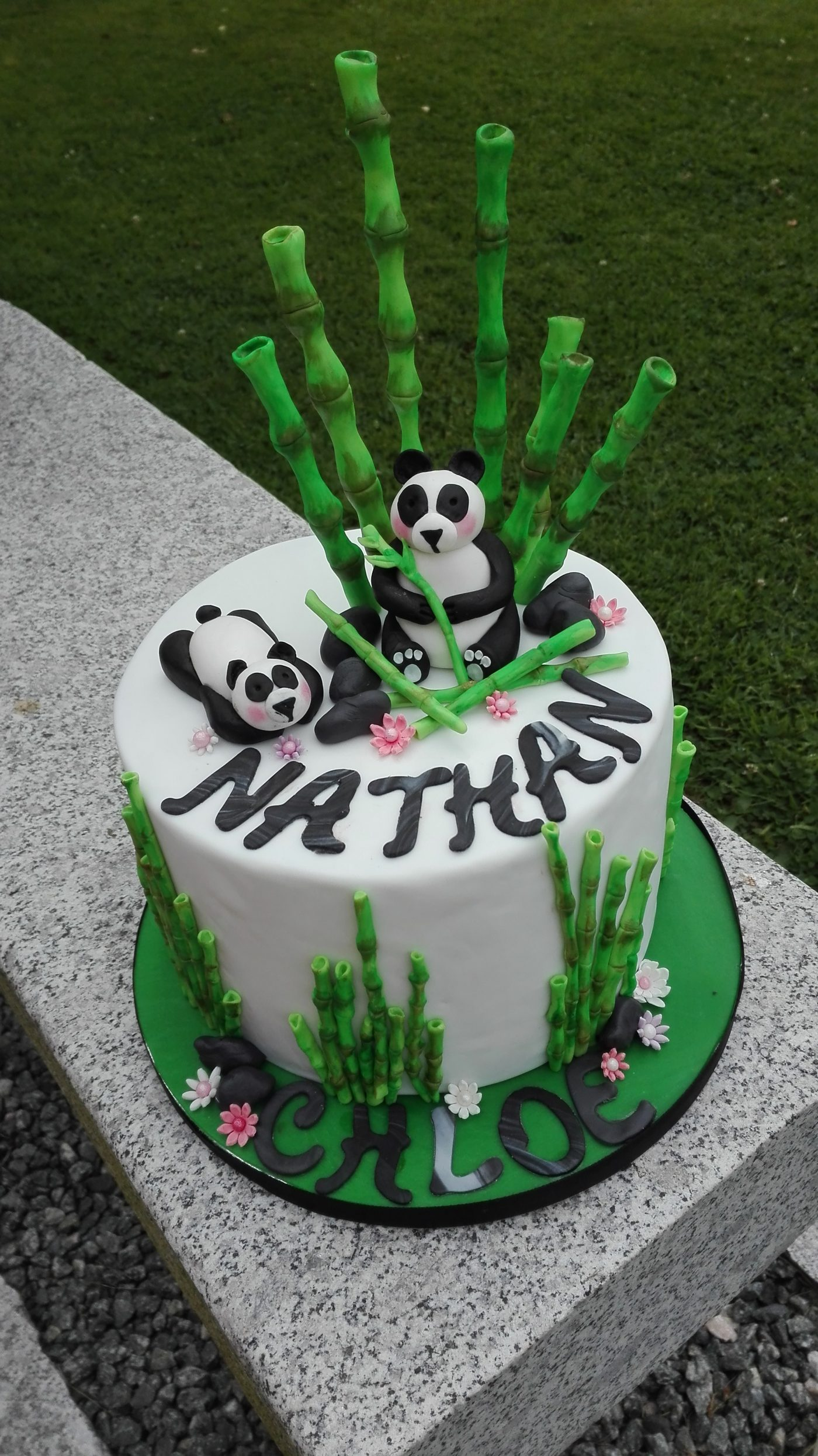Mon petit panda concours cake design