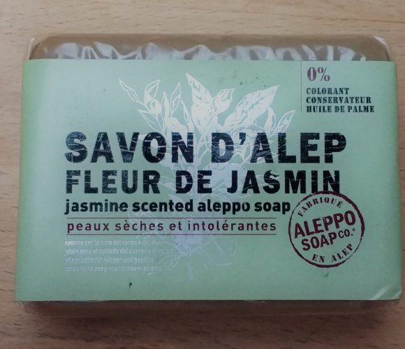 J'ai testé pour vous savon d'Alep «Fleur de Jasmin»