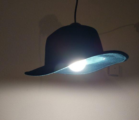 Chapeau lumineux