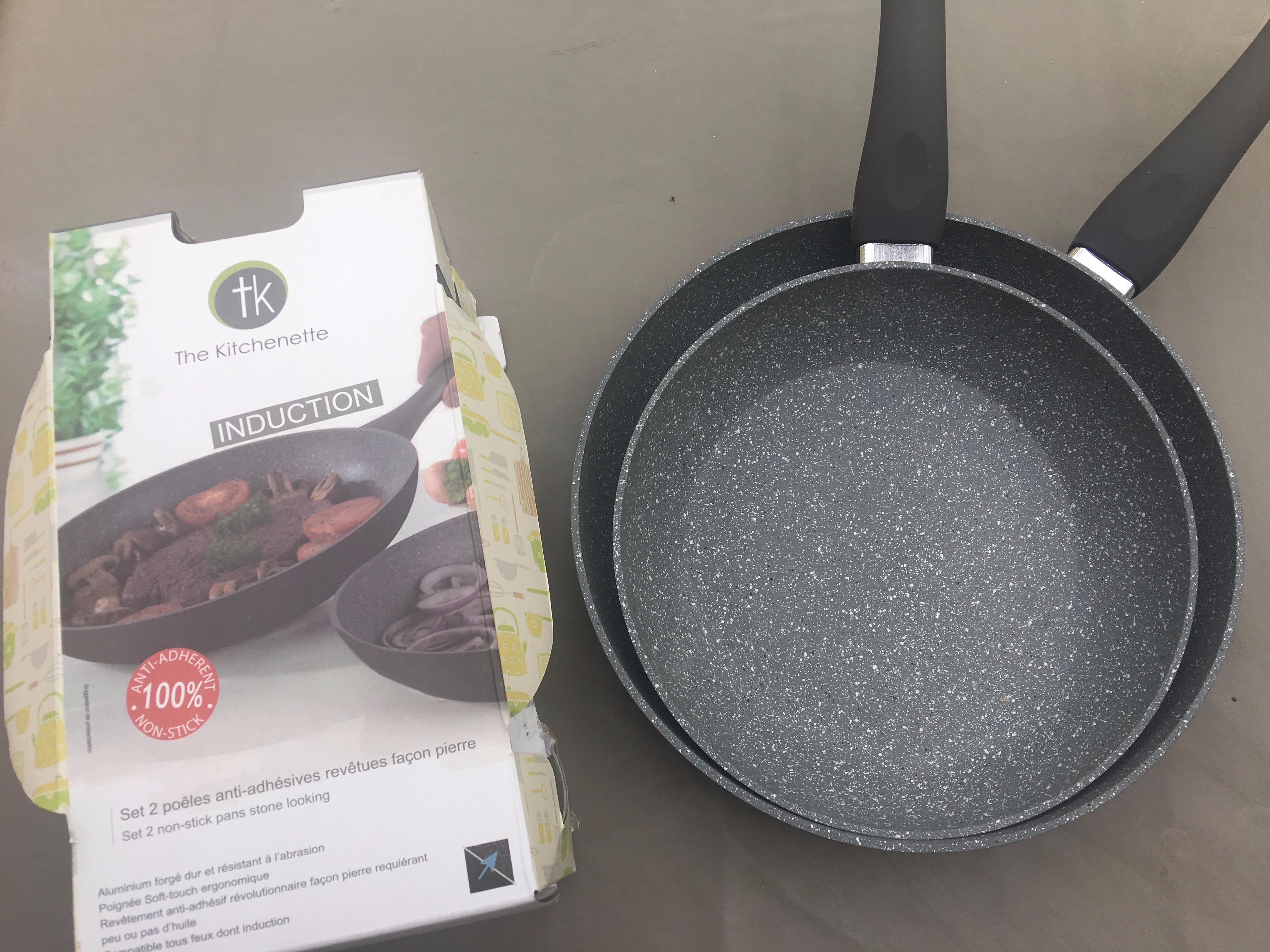 J'ai testé pour vous le kit de poêles The Kitchenette : La pierre au service de la cuisson