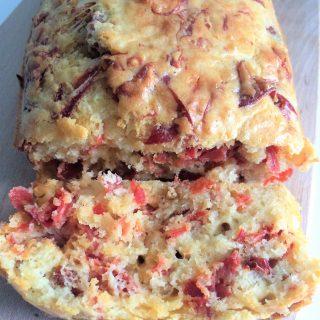 Cake chorizo tomates séchées