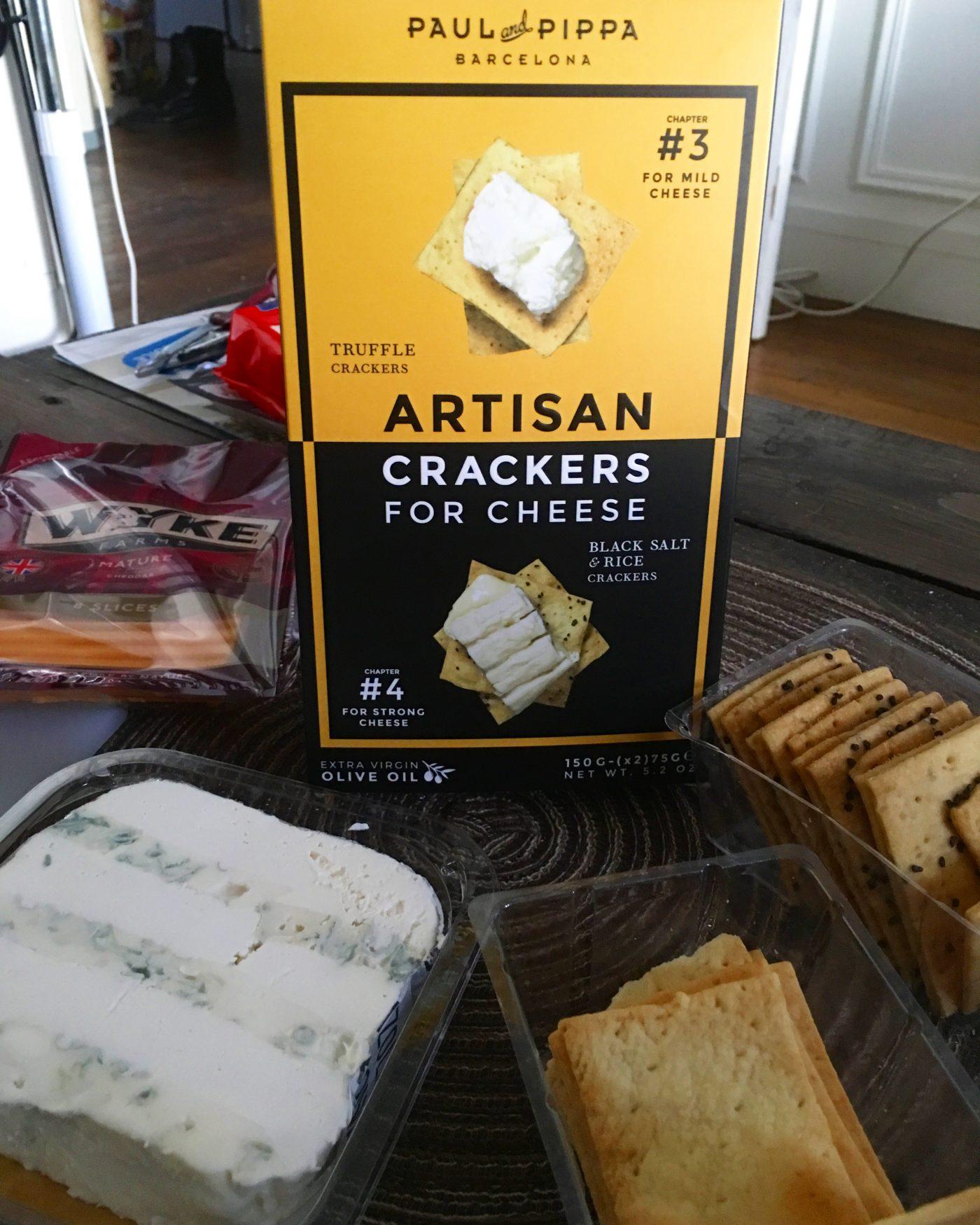 J'ai testé pour vous les crackers apéro Paul & Pippa