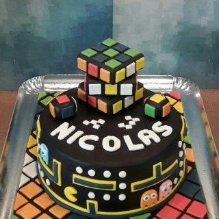 Rubik's Cube & Pac Man