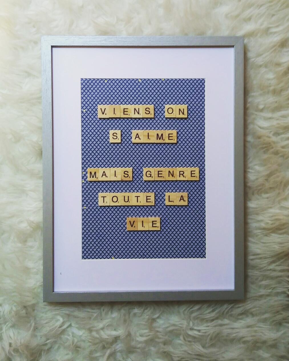 Cadre Scrabble ByLna CITATION