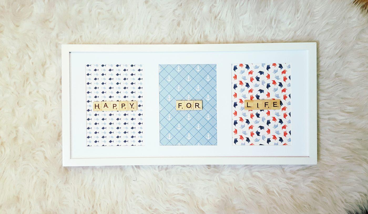 Cadre Scrabble TRIO