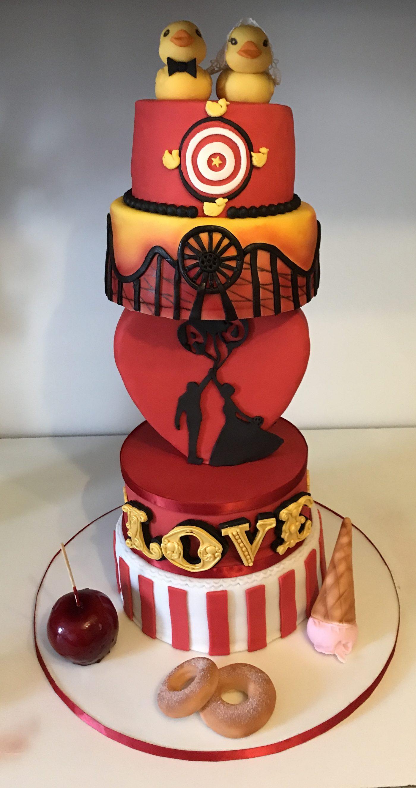 Gâteau De Mariage Fête Foraine Blog Zôdio