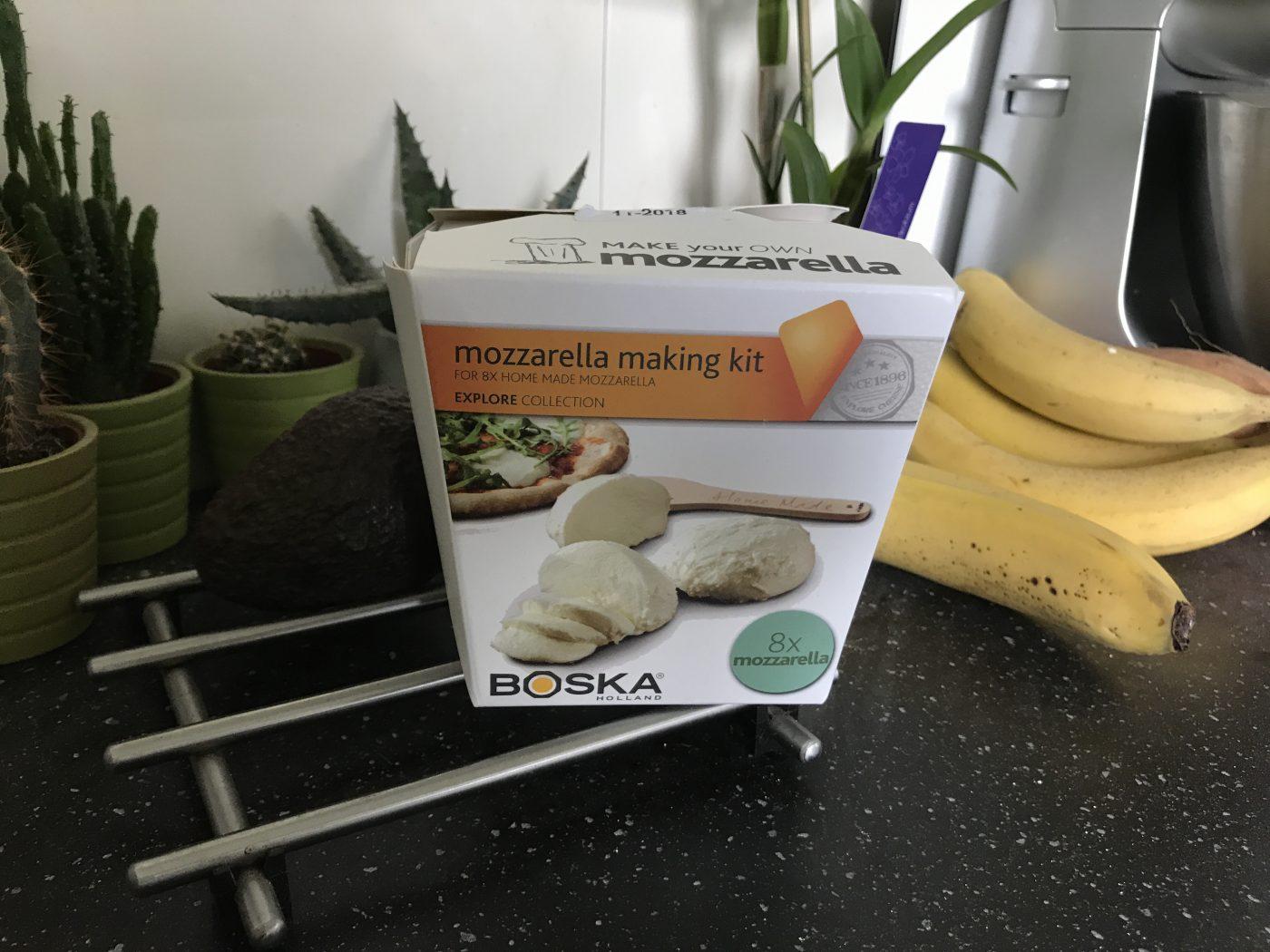 J'ai testé pour vous le kit mozzarella maison