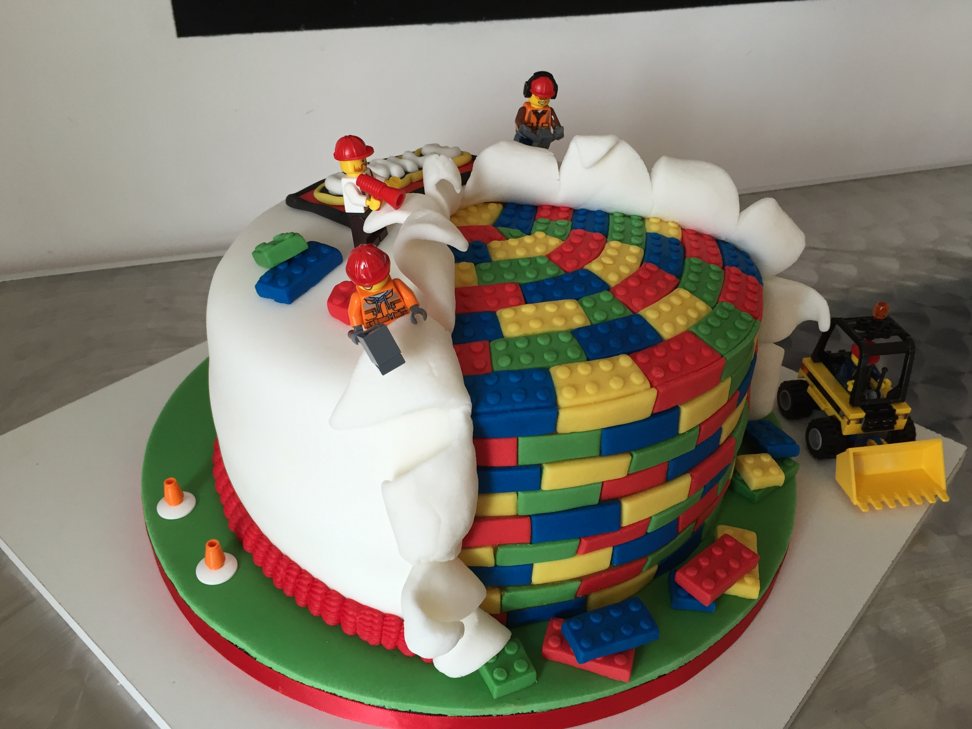 Mon lego cake - jeu préféré de l'été de mon fils