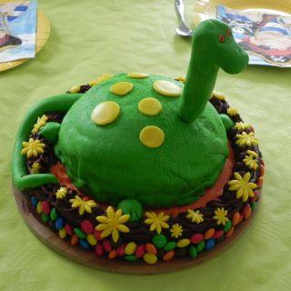 """Gâteau """"Le voyage de Arlo"""""""