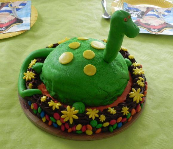 Gâteau «Le voyage de Arlo»