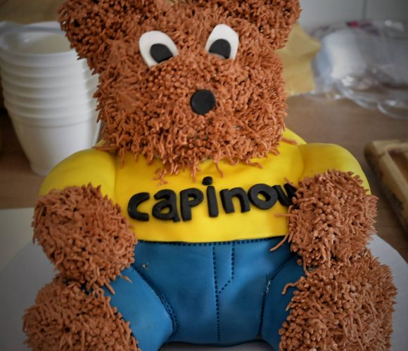 Capinou, la mascotte du camping !