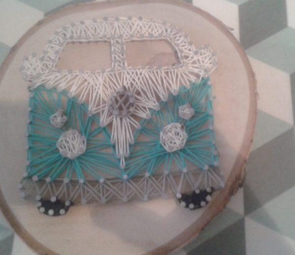 J'ai testé pour vous le fil sur bois (string art)