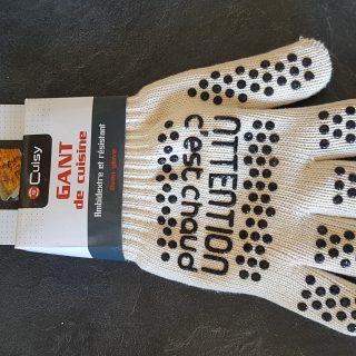 J'ai testé pour vous le gant anti chaleur CUISY