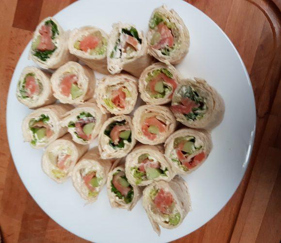 Wrap au saumon