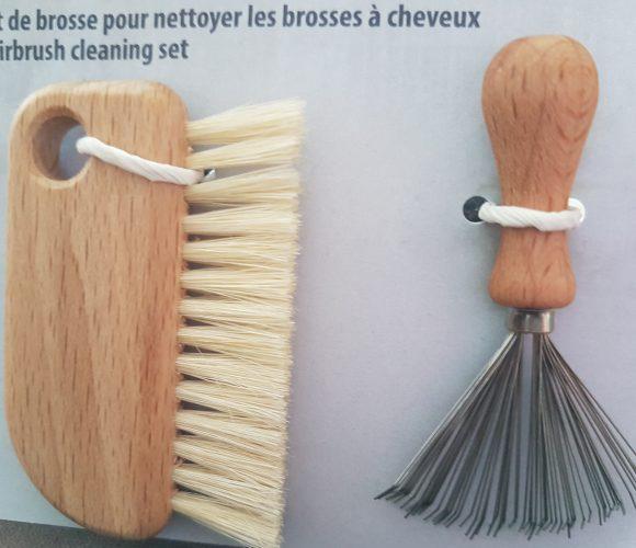 J'ai testé pour vous le set de brosse pour nettoyer les brosses à cheveux de REDECKER