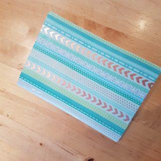 Joli Carnet décoré avec des washi tape