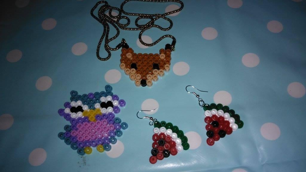 Les bijoux en perles à repasser