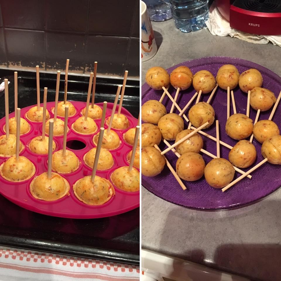 Pop cakes Salés