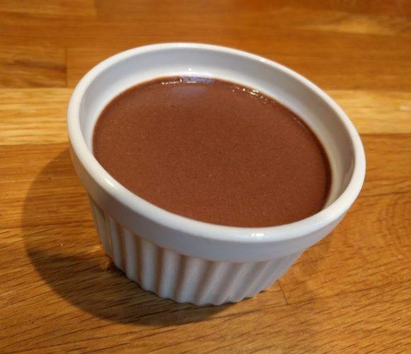Crème onctueuse au chocolat