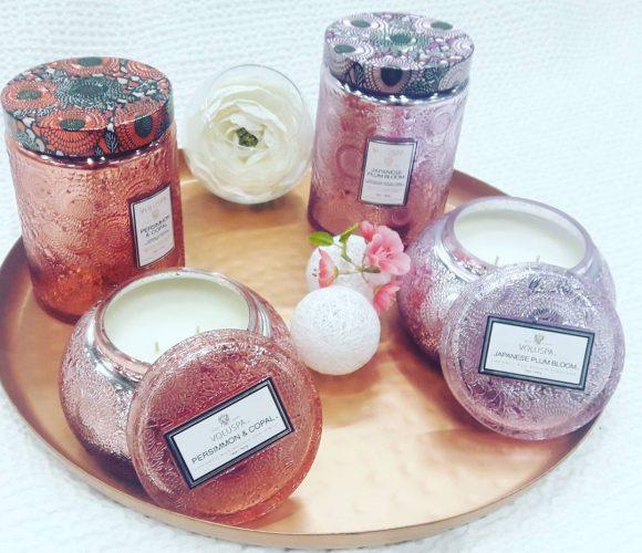 J'ai testé pour vous : Les 2 nouvelles bougies VOLUSPA D'AROMA HOME !!