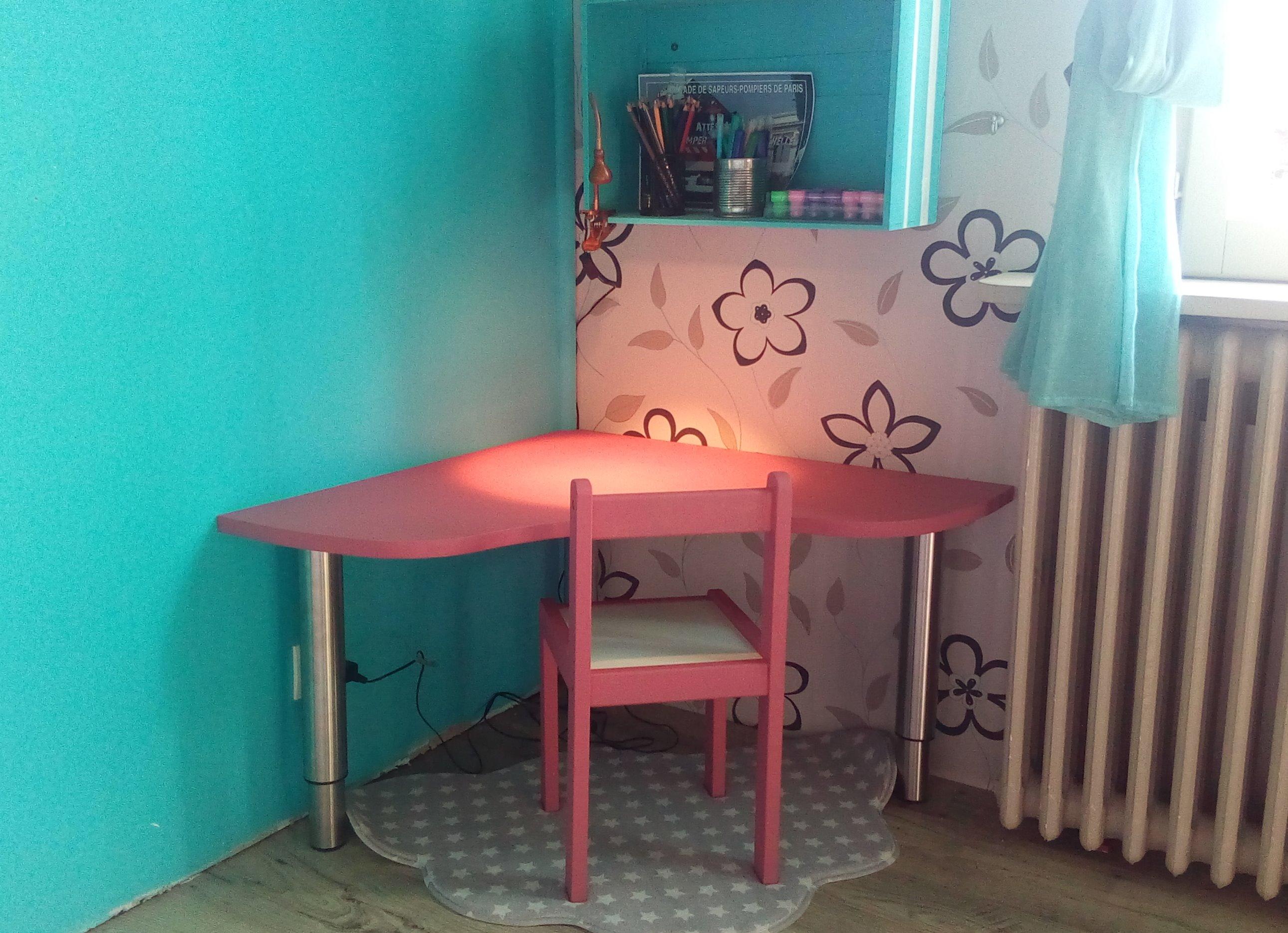 Concevoir un bureau d'enfant évolutif