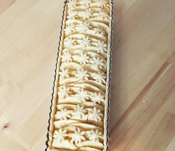 J'ai testé pour vous moule rectangulaire tarte aux pommes