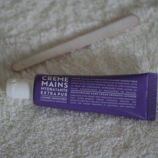 J'ai testé pour vous crème mains lavande 30 ml