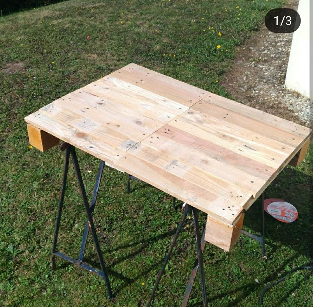 table basse en palette home made blog z dio. Black Bedroom Furniture Sets. Home Design Ideas