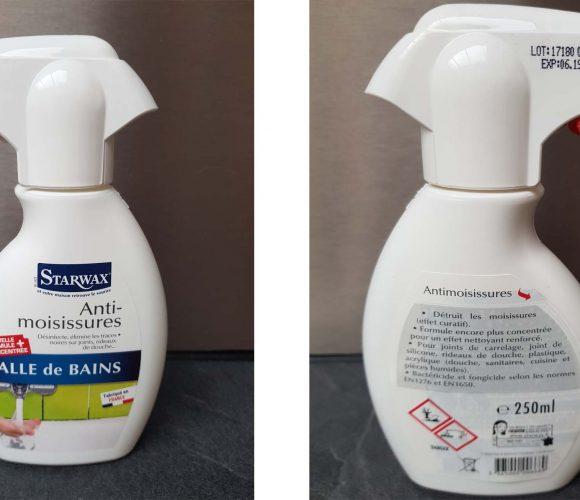 J'ai testé pour vous l'anti-moisissures pour salle de bain de la marque Starwarx.
