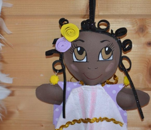 Jolie poupée, jolie fofucha : Rosita, essui-mains