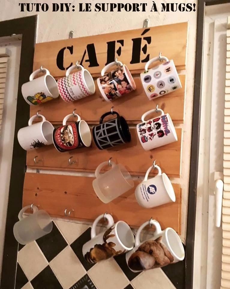 DIY: Tuto du support mural à Mugs!