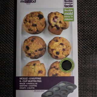 J'ai testé pour vous le moule à 6 muffins mastrad