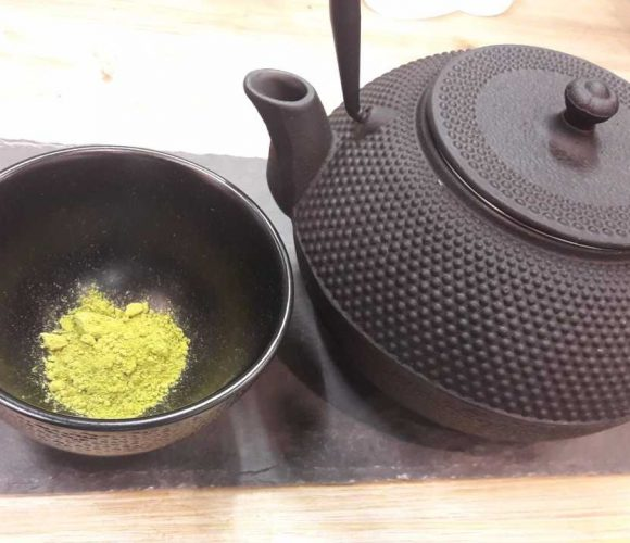 le MATCHA … ou poudre de thé !