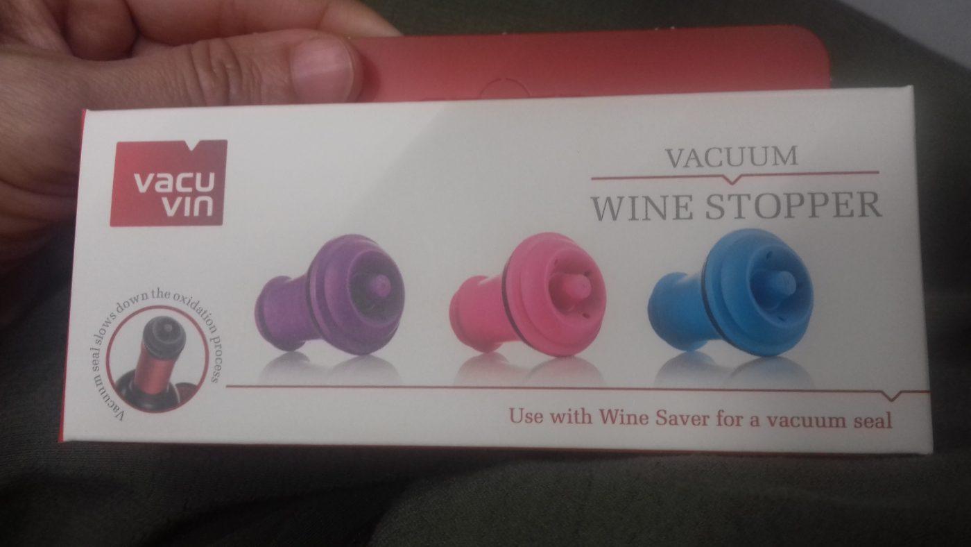 J'ai testé pour vous les bouchons Vacu Vin Wine stopper