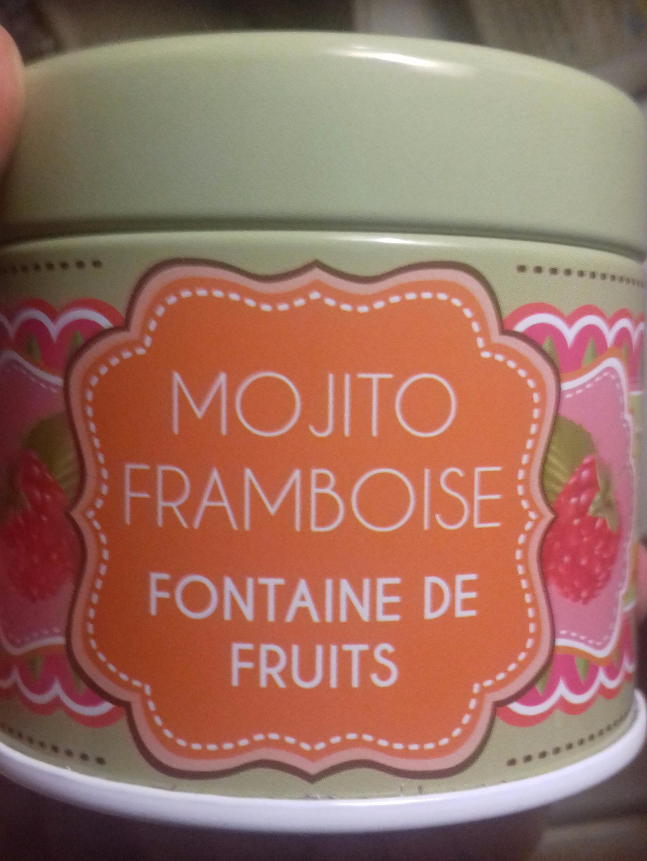 J'ai testé pour vous l'infusion mojito Framboise ???