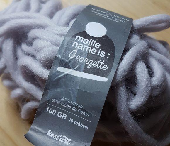 J'ai testé pour vous la laine «Maille name is Georgette»