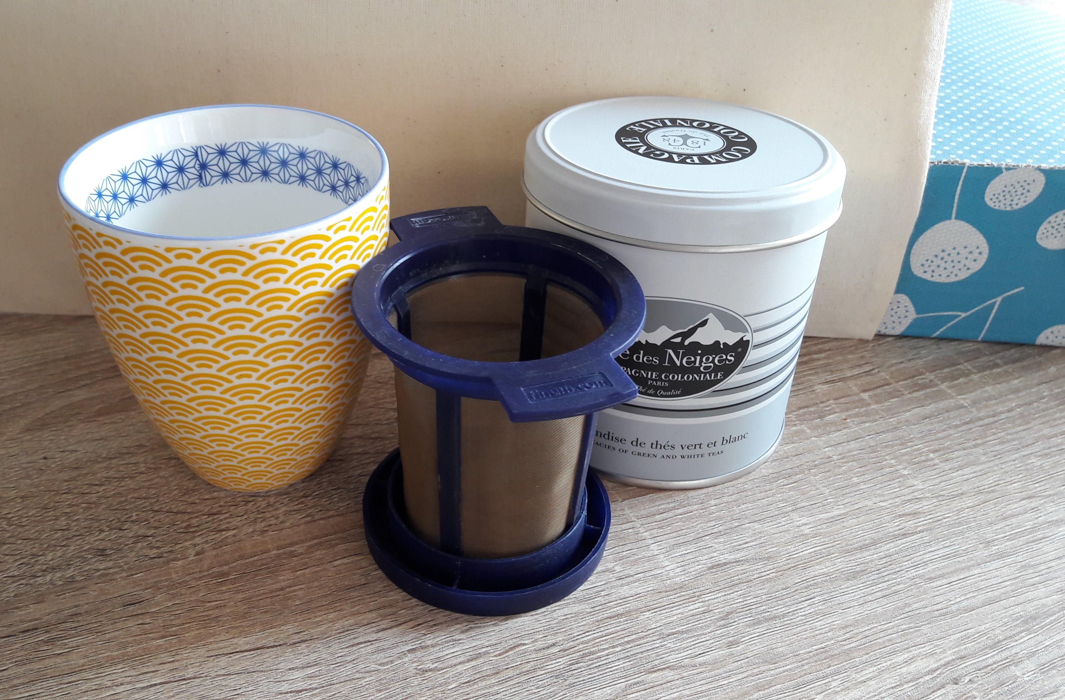 J'ai testé pour vous le set de 2 filtres à thé Goldton