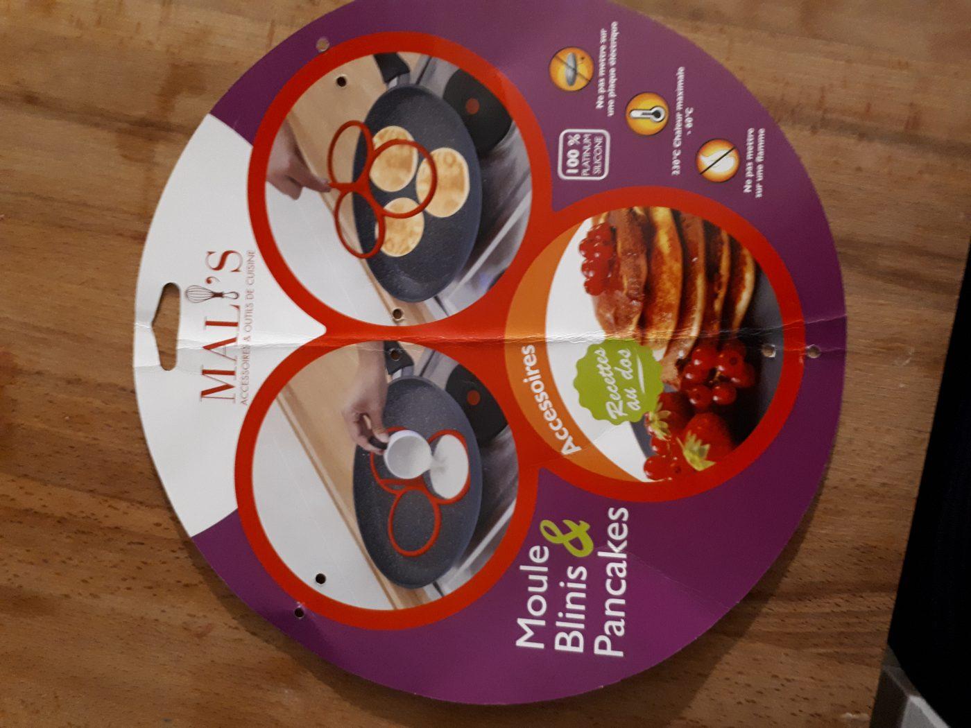 J'ai testé pour vous moule à blinis ou pancakes