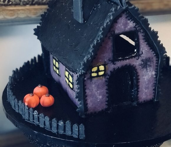 Gâteau maison Halloween